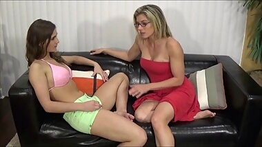 Mom Punishes Big Boobed Step Daughter