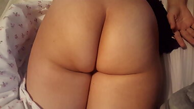 Gf flashing her cute tanlined sexy ass