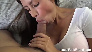 latina mom is desperate to fuck